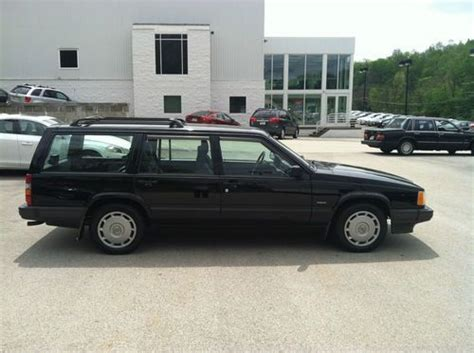 auto air conditioning service 1994 volvo 940 parental controls find used 1994 volvo 940 2 3l 4 cylinder wagon low miles black leather heated seats rare in