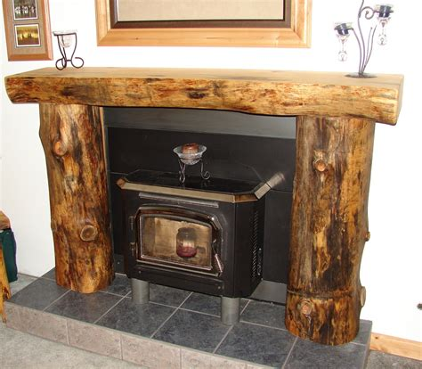 log mantelpieces accent logs log handrails log home furniture