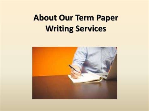 term paper writing service about our term paper writing services