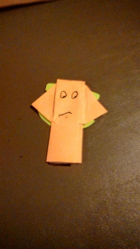 Origami Yoda Book 1 - jar jar origami yoda
