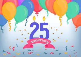 libro illustration now 25th anniversary 25th anniversary free vector art 1138 free downloads