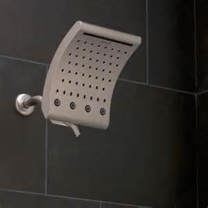 oxygenics curve 3 setting brushed nickel shower