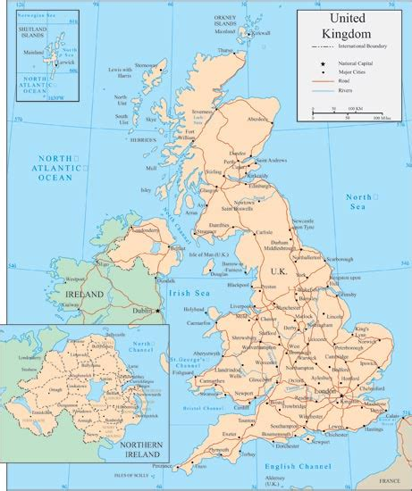 map uk vector united kingdom vector maps