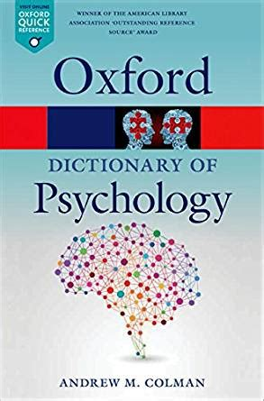 the dictionary of psychology books a dictionary of psychology oxford