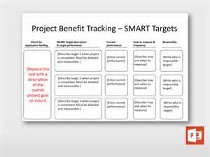 project benefits tracking project templates guru