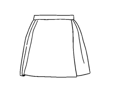 A skirt coloring page   Coloringcrew.com