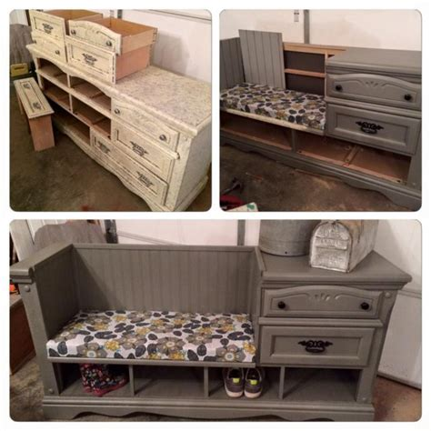 turn bookshelf into bench 15 clever ways to repurpose dresser drawers home design