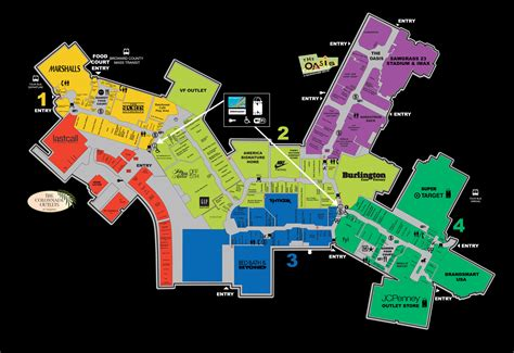 opry mills map sawgrass mills mall shops map