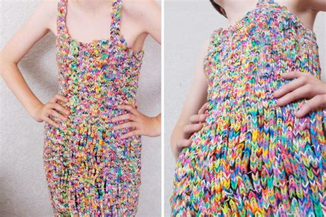 loom band dress video 16 first child to make a adult loom band dress sold for thousands on ebay