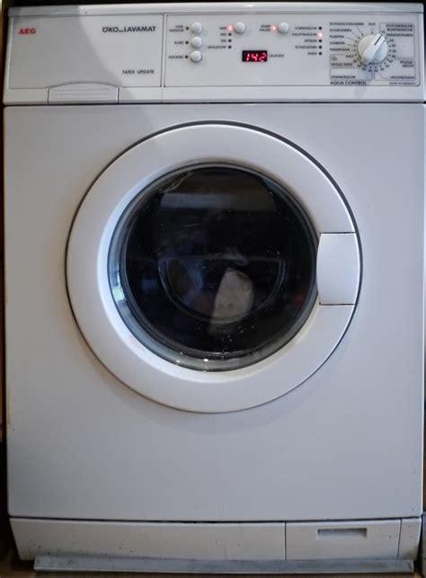 Waschmaschine Gewicht Entfernen by Aeg 214 Ko Lavamat Reparatur Trommellager Tauschen