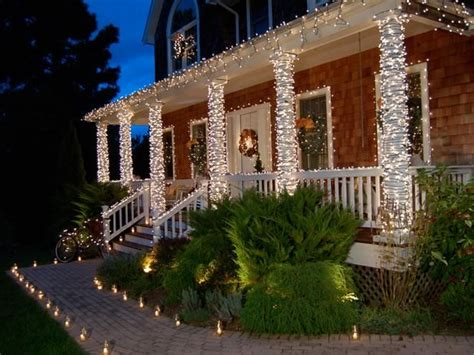how to decorate indoor column for xmas 10 door decorations front entry tree trunks and lights