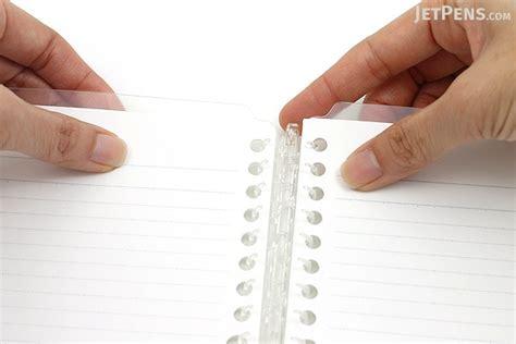 Binder America 26 Ring kokuyo cus smart ring binder notebook b5 26 rings clear jetpens