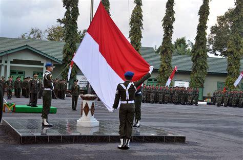 hut indonesia tni ad upacara peringatan hut kemerdekaan indonesia ke 69