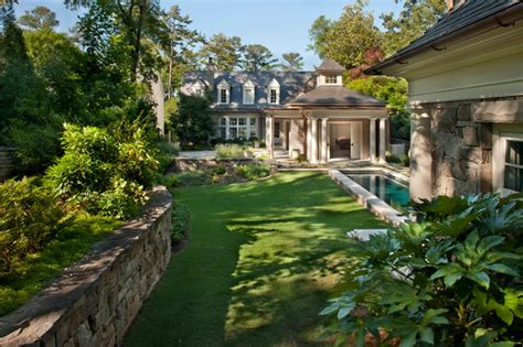 landscape architect atlanta brookhaven garden pool traditional landscape