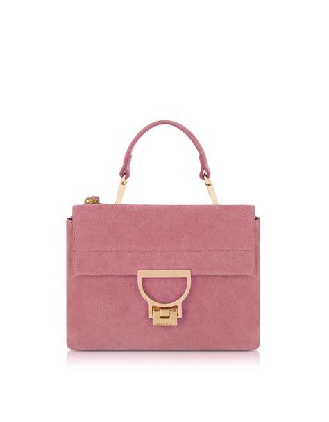 Join The With This Milkshake Shoulder Bag by Coccinelle Milkshake Suede Arlettis Mini Bag Fashion