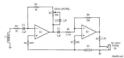 induction loop circuit audio induction loop diy crafts