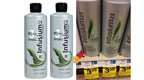 infusium 23 bleached hair infusium 23 hair care only 0 99 at rite aid living rich