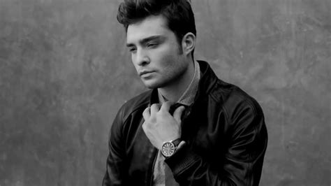 ed westwick for august man malaysia october 2013 behind