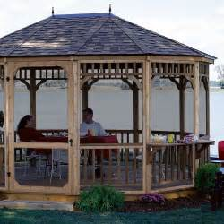Yard Gazebo by Transform Your Backyard With A Gazebo Into A Beautiful