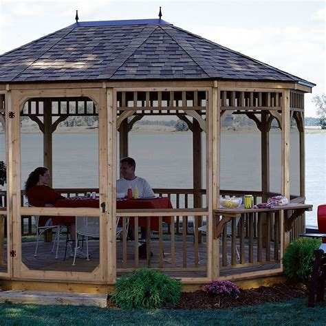 gazebo masterpiece transform your backyard with a gazebo into a beautiful