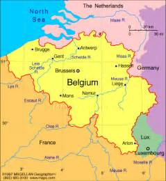 Map Of France And Belgium by Eurogates Belgian Immigration Rules