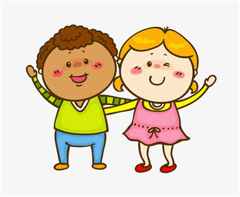 friends clip friends friend yellow hair happy png image