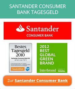 santander consumer bank dresden santander consumer bank tagesgeld erfahrungen meinungen