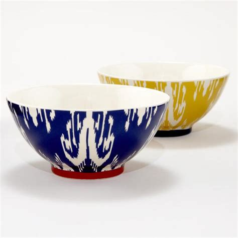 Ikat Set 2 by Ikat Bowls Set Of 2 World Market