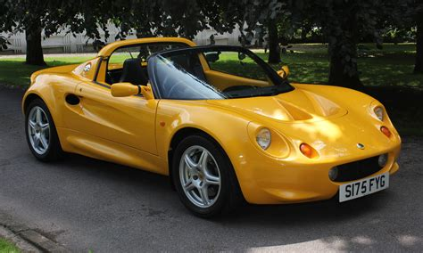 lotus s1 lotus elise s1 118bhp just as as the pictures