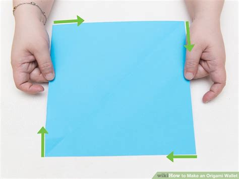 How To Make A Paper Wallet Step By Step - how to make an origami wallet with pictures wikihow