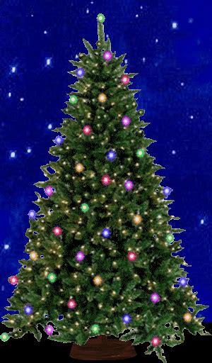 blinking tree lights garland blinking lights gif