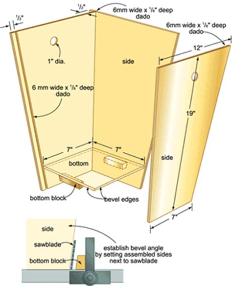 Kitchen Cabinets Diy Plans by Wood Trash Can Holder Plans Easy Diy Woodworking