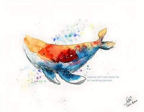 watercolor orca tutorial water colour tips by queenie on coco bee art watercolour