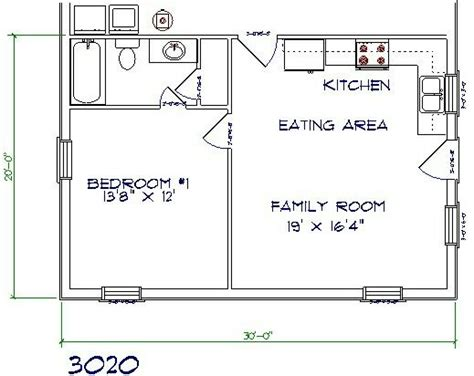 barn apartment floor plans in law add on inlaw suite pinterest tiny houses