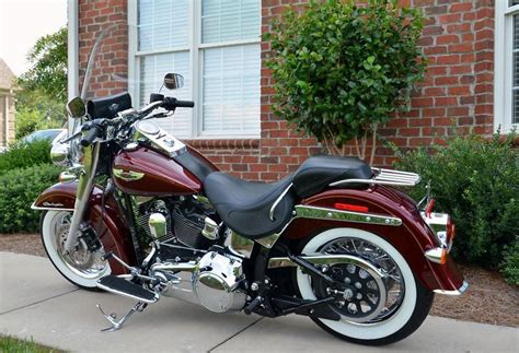 buy 2007 harley davidson softail deluxe black cherry on 2040 motos