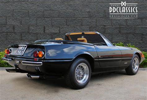 ferrari classic convertible ferrari 365 gts 4 daytona spyder lhd