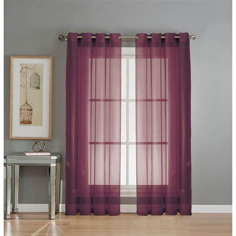 coloured voile curtains plum coloured voile curtains integralbook com