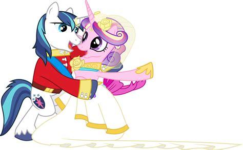 my little pony princess cadence shining armor princess cadance and shining armour dancing 1 by 90sigma