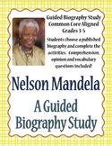 nelson mandela biography primary ks2 teaching resource nelson mandela teaching resources teachers pay teachers