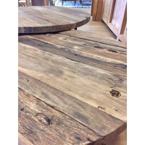 ronde salontafel hout staal ronde salontafels rustiek hout met staal