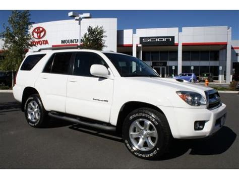 Used Toyota 4runner Sport Edition For Sale Used 2007 Toyota 4runner Sport Edition 4x4 For Sale