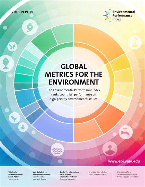 design for the environment guidelines yale environmental performance index 2016 by yale