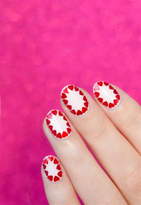 nail art tutorial valentines easy valentine s day nail art tutorial