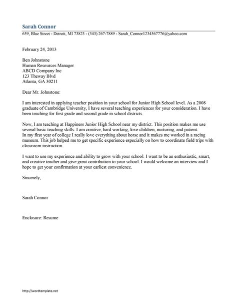 application format for experience letter application letter for experience certificate for teacher
