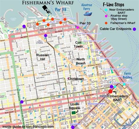 san francisco map of fishermans wharf fleet week san francisco 2017 tips from a local