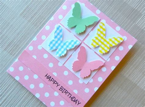 Handmade Birthday Ideas - handmade greetings cards for birthday handmade birthday