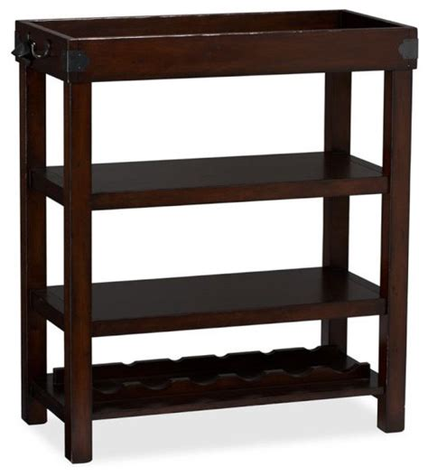 Mini Bar Table Norwood Mini Bar Traditional Indoor Pub And Bistro Tables By Pottery Barn