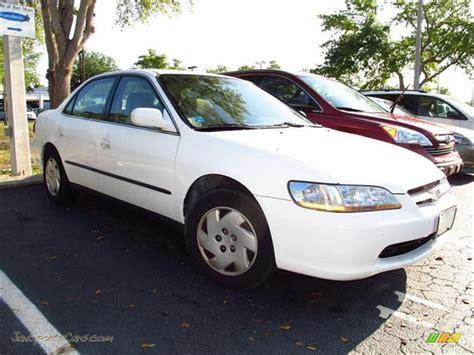1998 honda accord white 1998 honda accord lx v6 sedan in taffeta white 072809