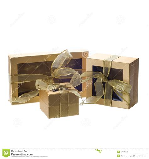 gift box with window lid window lid gift boxes stock photo image 53681445