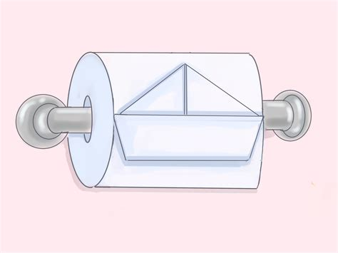 Folding Toilet Paper - 8 ways to fold toilet paper wikihow